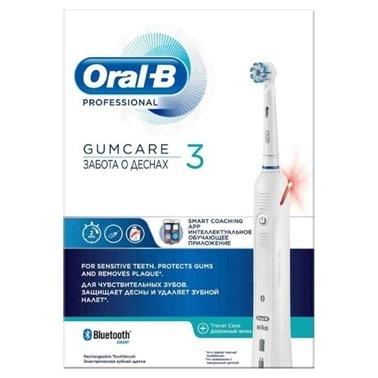 Oral-B Professional Gumcare 3 Smart Coaching App Şarj Edilebilir Diş Fırçası Renksiz